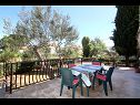 Appartements A1 (3+2), SA 2 (2+2), A3 veliki (4+4) Supetar - Île de Brac  - Studio appartement - SA 2 (2+2): terrasse