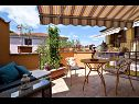 Appartements SA1(2) Nedescina - Istrie  - Studio appartement - SA1(2): terrasse