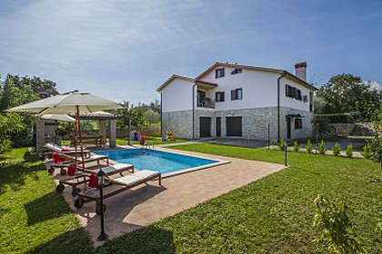 Maisons de vacances Villa with pool H(8+2) Nedescina - Istrie  - Croatie