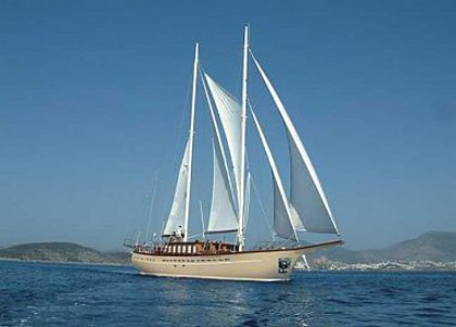 Embarcation a voiles - Queen Of Adriatic (code:CRY 302) - Sibenik - Riviera de Sibenik  - Croatie