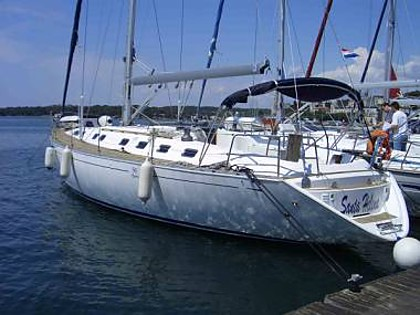 Embarcation a voiles - Dufour 50 (CBM Periodic) - Pula - Istrie  - Croatie