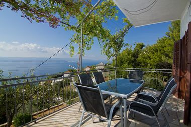 Appartements May - with sea view: A1(2+2), A2(6+2)  Marusici - Riviera de Omis